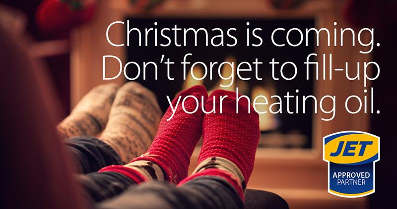 Par Petroleum Jet Partner Winter Heating Campaign Banner